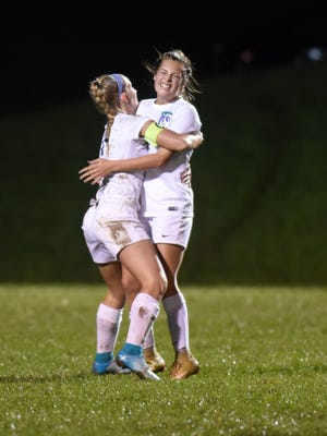 Zanesville scored seven times in the second half to upend Maysville, 8-1, in a Division II district semifinal game on Monday night at West Muskingum.