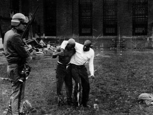 ATTICA PRISON RIOT - SEPT. 13, 1971