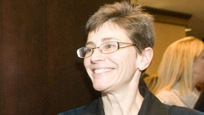 Vermont Human Resources Commissioner Beth Fastiggi, pictured in 2012 as president of FairPoint Communications.