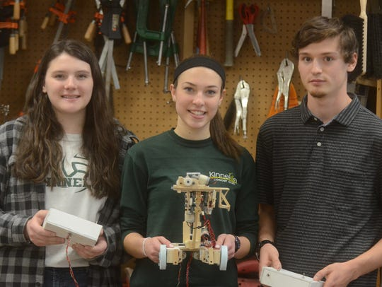 Kinnelon's robotic team is looking to repeat its 2016