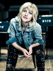 Vermont singer-songwriter Anais Mitchell sits at the
