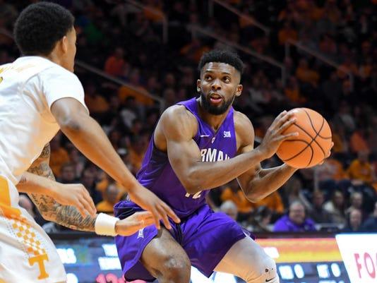 NCAA Basketball: Furman at Tennessee