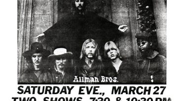 The night Bruce Springsteen opened for the Allman Brothers