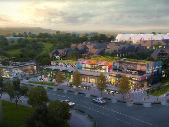 Another rendering of North Lights planned at the northwest