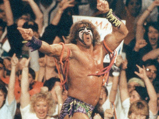 The Ultimate Warrior, also known as Jim Hellwig of Crawfordsville, died of a heart attack on April 8, 2014. He was 54.