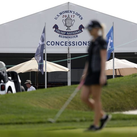 President Trump, stay away from U.S. Women's Open this weekend