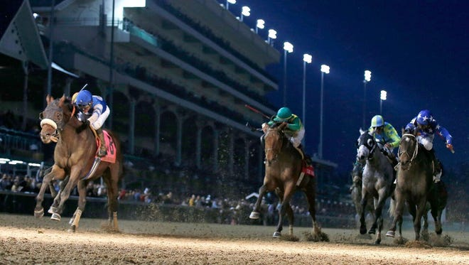 Effinex topped, among others, fellow Dubai World Cup nominees Hoppertunity and Keen Ice in the 2015 Clark Handicap at Churchill Downs.