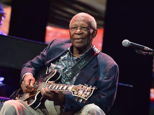 FILE: B.B. King Hospitalized In Las Vegas Eric Clapton's Crossroads Guitar Festival 2013 - Day 1 - Show