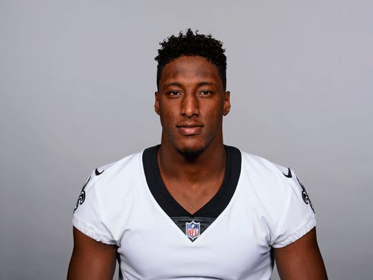 This is a 2017 photo of Michael Thomas of the New Orleans Saints NFL football team. In only his second season, Thomas is the Saints' No. 1 receiver. That likely means more action, and more responsibility, for an emerging player who racked up more than 1,100 yards receiving as a rookie. (AP Photo, file)
