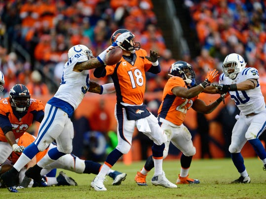NFL: Divisional Round-Indianapolis Colts at Denver Broncos