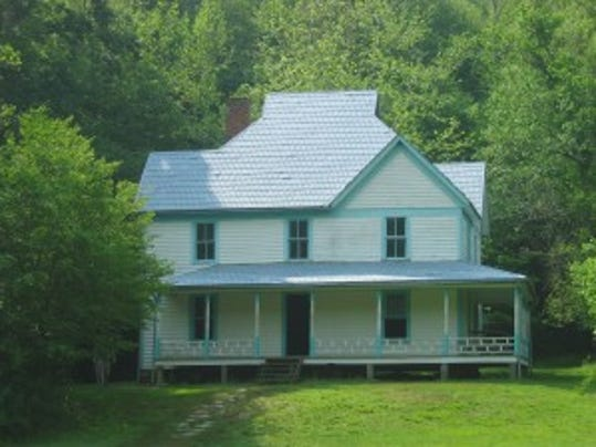 Caldwell House in Cataloochee area of the Smokies.
