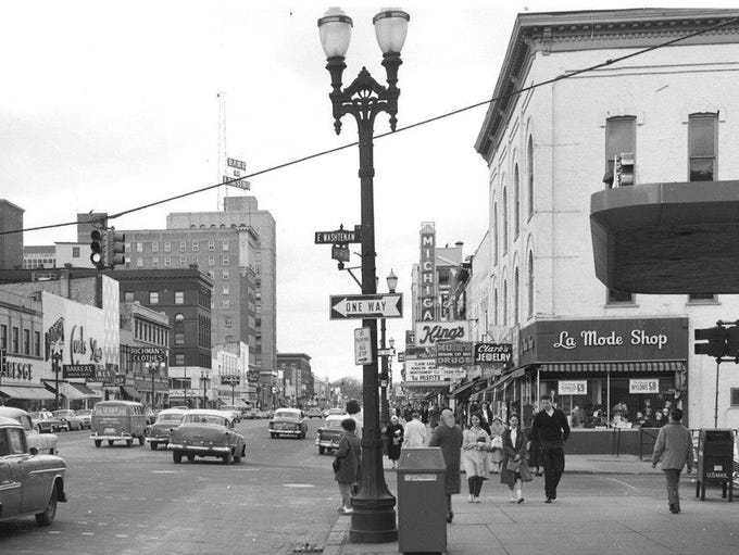 Washington Avenue/Washington Square.