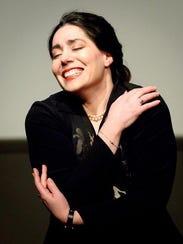 Andrea Gregori stars as opera singer Maria Callas in