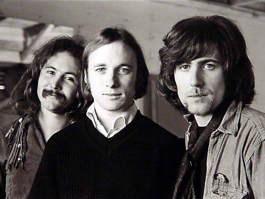 Crosby, Stills and Nash: David Crosby (from left), Stephen Stills and Graham Nash.