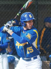 Lyndhurst infielder/pitcher Frankie Venezia, shown in a 2017 photo, tossed a no-hitter in a 2-1 win over Leonia on April 5.