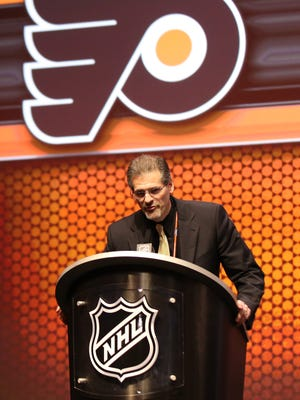 Philadelphia Flyers GM Ron Hextall uses advanced stats now and when he was with the Los Angeles Kings.