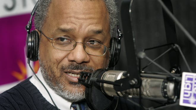 "Amos Brown spoke his mind during his WTLC-AM (1310) radio show, ""Afternoons with Amos,"" on April 17, 2007. Brown died Friday, Nov. 6, 2015, at the age of 64."