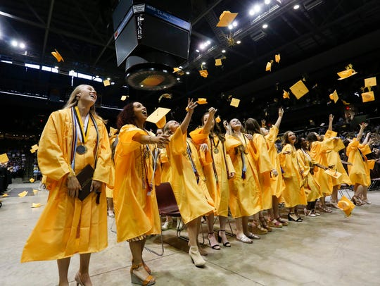 Springfield's Kickapoo High School posted a four-year graduation rate of 95 percent in 2018. The state average is 89 percent.