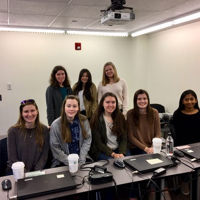 Morris county nj news daily record members of a 16 person student committee that organized fandeluxe Images