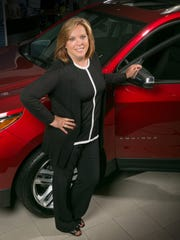 Rhonda Jensen, general manager of Bowman Chevrolet in Clarkston, Mich.