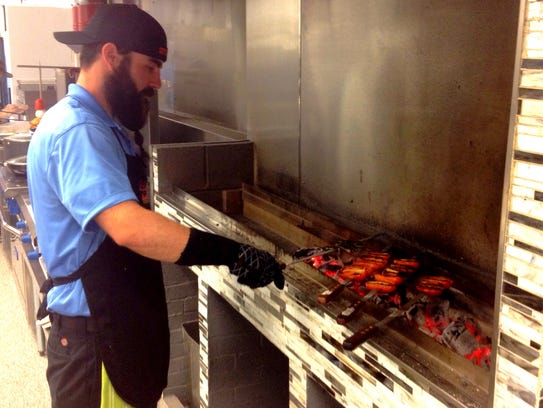 Kababi's charcoal grill