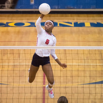 St. Lucie West Centennial's Ayannah Henry hits the