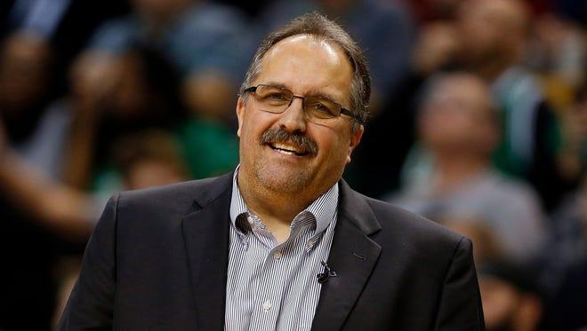 Pistons Coach Stan Van Gundy.