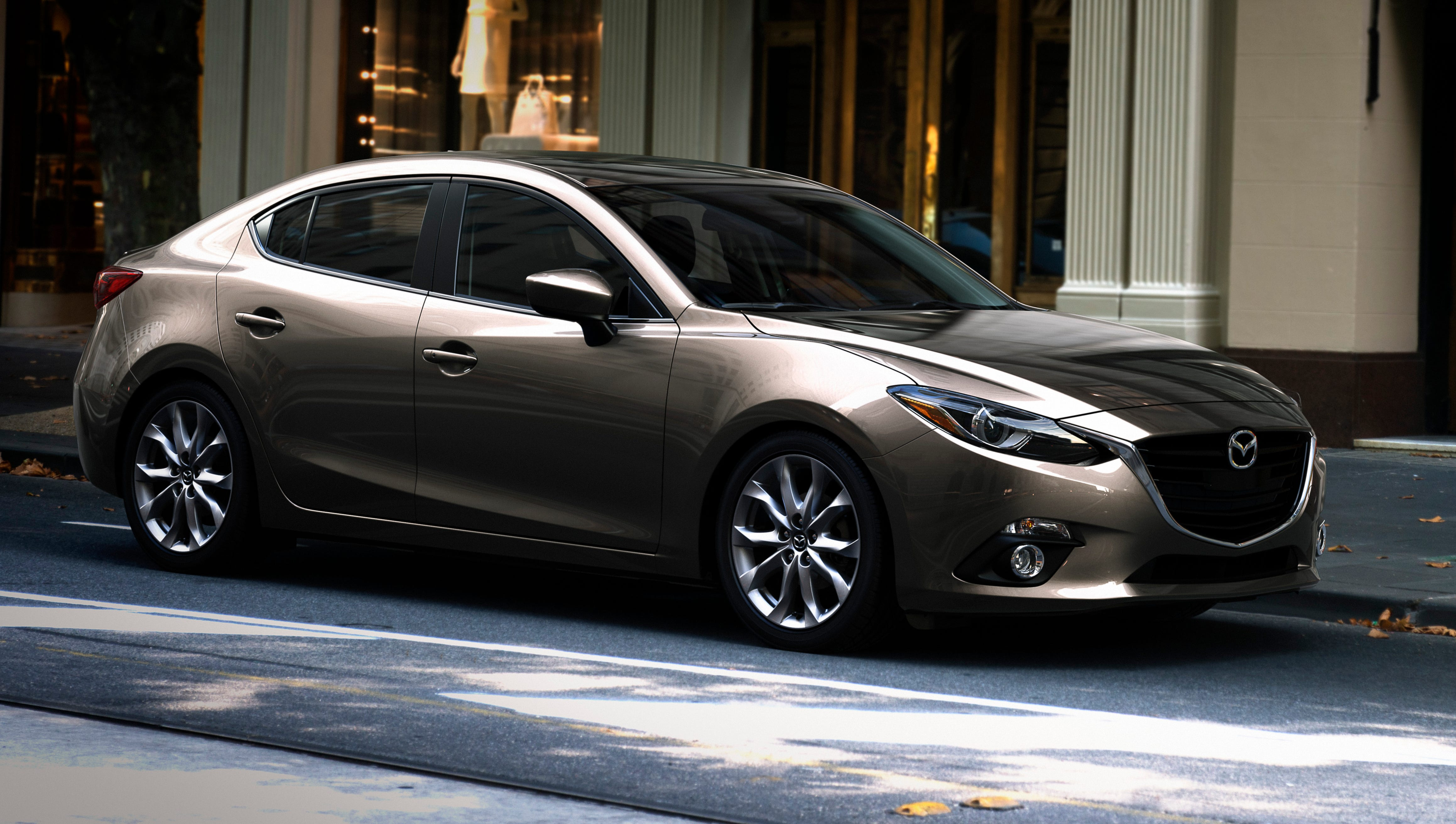 This year's Edmunds.com Top 10 Best Cars for Short Drivers includes the Mazda3 starting at $17,495 (the all-new redesigned 2014 model shown here).