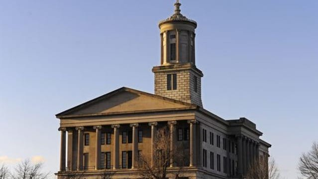 The Tennessee state Capitol. (Photo: George Walker IV/The Tennessean)