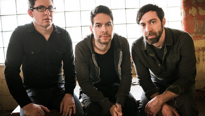 """""""We see a lot more younger people, people that didn't start out with us or even start out in the last two records,"""" says Chevelle drummer Sam Loeffler, left."""
