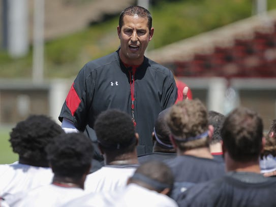 Cincinnati Bearcats football coach Luke Fickell has