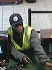 Photo of man accused of robbing Fifth Third Bank Thursday