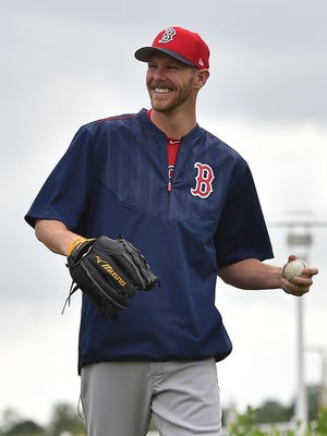 The White Sox traded Chris Sale to the Red Sox over the winter.