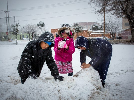 Las Cruces Snow 1