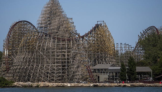 Twists and turns like no other begin to take shape for Cedar Point's Steel Vengeance, the world's first hyper-hybrid coaster.