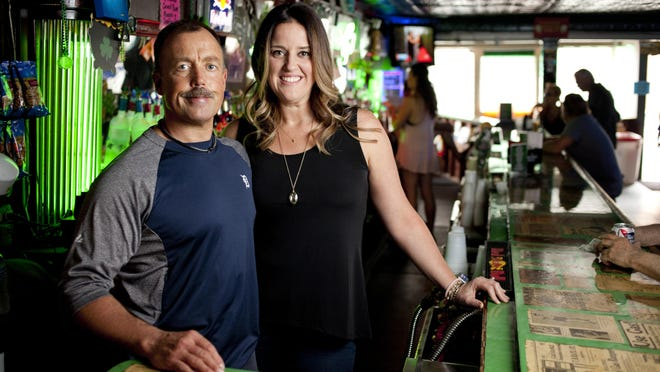 Roche Bar owners Johnny and Suzy Roche are ready for this year's pictured Thursday, July 16, at the in Port Huron.