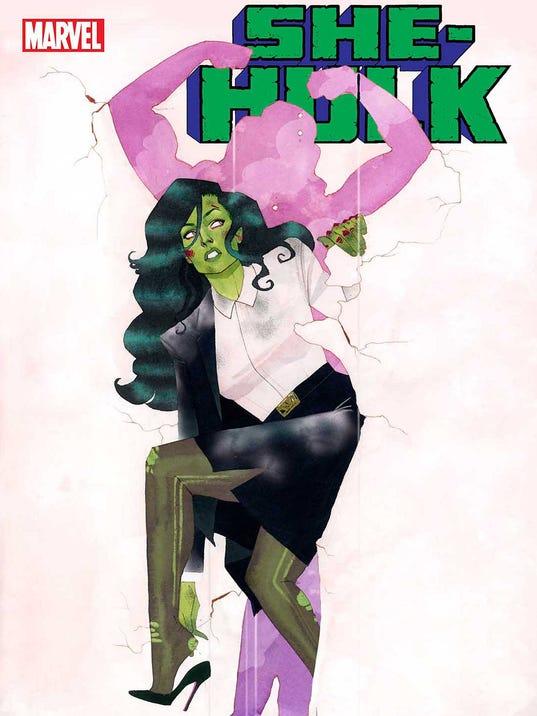 She Hulk cover