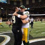 Drew Brees' longevity could set template for Packers' Aaron Rodgers