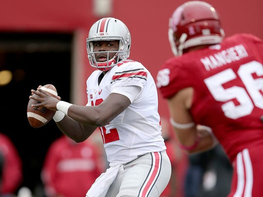 Ohio State quarterback Cardale Jones had another shaky performance vs. Indiana, but apparently his job is safe.