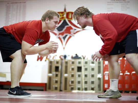 Leon's wrestling team will rely heavily on senior Gabe Beyer (285) and sophomore J.T. Grant (220), both returning state qualifiers off a team that finished 12th at state.