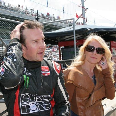 Kurt Busch and then-girlfriend Patricia Driscoll in