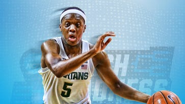 MSU's Cassius Winston grows as leader on, off court