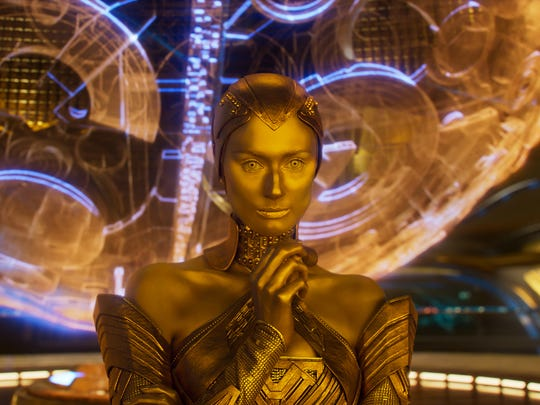 "We may be seeing ""Guardians of the Galaxy Vol. 2"" villainess Ayesha (Elizabeth Debicki) back sooner than later."