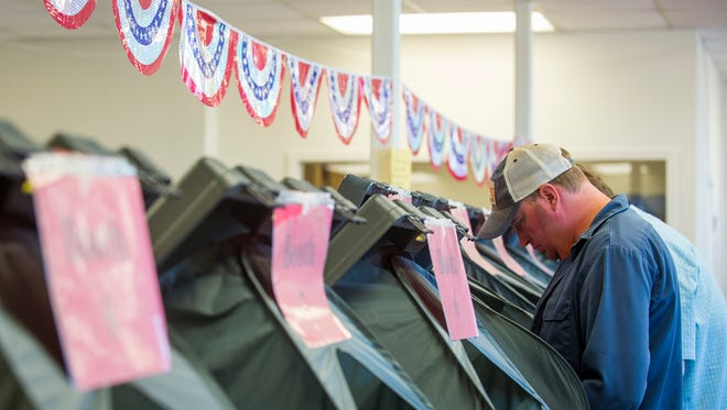 Robertson residents finished the early voting period just shy of a record turnout.
