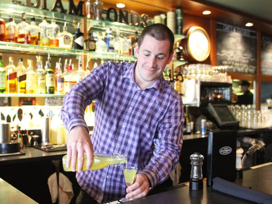 Adam Merkel named Cello Ristorante after the limoncello, an Italian liqueur he fell in love with years ago and that takes about two months to make.