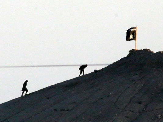 AP MIDEAST SYRIA BATTLE OF KOBANI I FILE TUR