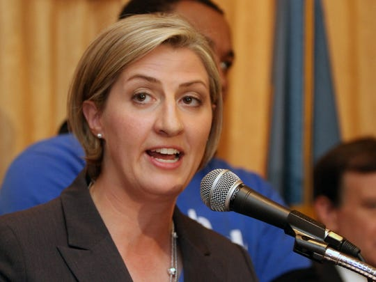 Brenda Mayrack was appointed state escheator by Gov. John Carney in early 2018. She previously served as executive director of the Delaware Democratic Party and once ran for state auditor.