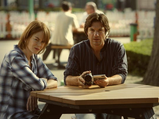 Nicole Kidman (left) and Jason Bateman play the grown,