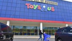 Final Saturday at Toys R Us store in Paramus, NJ.