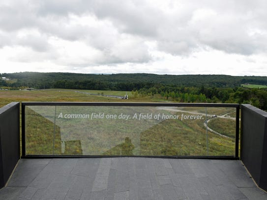 A special ceremony was held during the Flight 93 15th